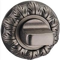 Фиксатор дверной защелки Arni Круглая E32 Ant/Silver -