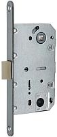 Защелка врезная с фиксацией Arni 410В MBNB квадратная (пластик) -