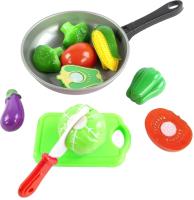 Набор игрушечных продуктов Mary Poppins Учимся готовить. Овощи на сковороде / 453045 -
