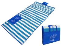 Пляжный коврик Sipl AG366 с надувной подушкой (синий) -
