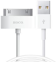 Кабель Hoco X1 USB 30pin (1м, белый) -