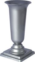 Ваза садовая Formplastic Dama 3 / 1062-022 (серый) -