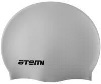 Шапочка для плавания Atemi DC503 (серебристый) -