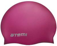 Шапочка для плавания Atemi SC104 (вишневый) -