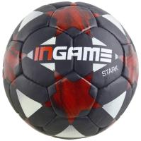 Футбольный мяч Ingame Stark IFB-121 (размер 5, черный/красный) -