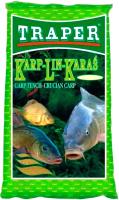 Прикормка рыболовная Traper Популярная Карп-линь-карась (1кг) -