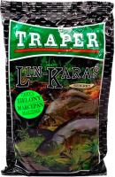 Прикормка рыболовная Traper Sekret Линь-Карась (1кг, зеленый марципан) -