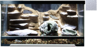 Террариум HydroTerra Jungle (50л, белый) -