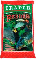 Прикормка рыболовная Traper Sekret Feeder (1кг, красный) -