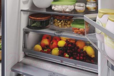 Холодильник с морозильником Hotpoint-Ariston HTS 9202I SX O3