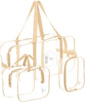 Комплект сумок в роддом Roxy-Kids RKB-002 (бежевый) -