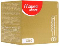 Скрепки Maped 50мм / 039630 (100шт, серебристый) -