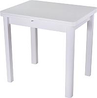 Обеденный стол Домотека Чинзано М-2 (белый/белый/04) -