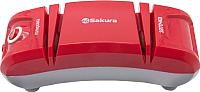 Ножеточка электрическая Sakura SA-6604R (красный) -