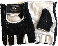 Перчатки для пауэрлифтинга QNT Knitted USI605 / I00001681 (XL, черный) -