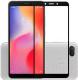 Защитное стекло для телефона Case Full Glue для Redmi 6/6A (черный) -