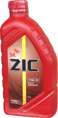 Трансмиссионное масло ZIC GFT 75W90 / 132629 (1л)