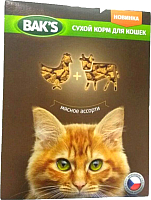 Корм для кошек Bak's Мясное ассорти (10кг) -
