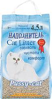 Наполнитель для туалета Pussy-cat Цеолитовый (4.5л) -