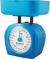 Кухонные весы Sakura SA-6017BL (синий) -