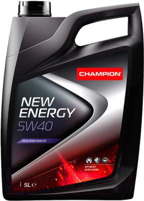 Моторное масло Champion New Energy 5W40 / 8211850 (5л)