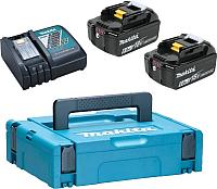 Набор аккумуляторов для электроинструмента Makita 198118-0 (с зарядным) -