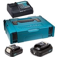 Набор аккумуляторов для электроинструмента Makita 197660-8 (с зарядным) -