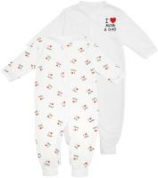 Комплект одежды для новорожденных Amarobaby Love / AB-OD21-L5/00-56 (белый, р.56) -