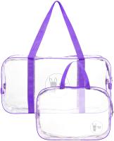 Комплект сумок в роддом Roxy-Kids RKB-006 (2шт, фиолетовый) -