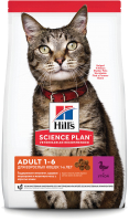 Корм для кошек Hill's Science Plan Adult Optimal Care Duck (0.3кг) -