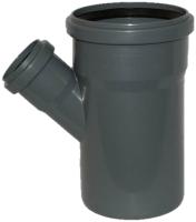 Тройник наружной канализации Armakan ПП 110/50/45o / KWPP-TR-110-003-P -