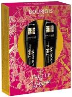 Набор декоративной косметики Bourjois Тушь для ресниц 2в1 Twist Up The Volume тон 52 2x8мл -