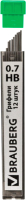 Набор грифелей для карандаша Brauberg Hi-Polymer / 180446 (12шт) -