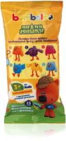 Влажные салфетки детские Bambolina МиМиМишки с ароматом медовой ромашки (15шт) -