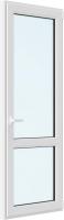 Дверь балконная Rehau Roto NX Поворотно-откидная внизу стекло правая 3 стекла (2200x800x70) -