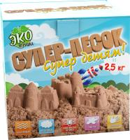 Кинетический песок Инновации для детей Супер-песок / 849 (натуральный) -