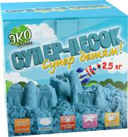Кинетический песок Инновации для детей Супер-песок / 850 (голубой) -
