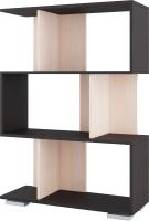 Стеллаж SV-мебель №1 Д (дуб венге/дуб млечный) -