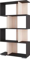 Стеллаж SV-мебель №2 Д (дуб венге/дуб млечный) -