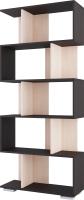 Стеллаж SV-мебель №3 Д (дуб венге/дуб млечный) -