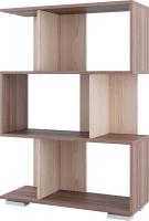 Стеллаж SV-мебель №1 Д (ясень шимо темный/ясень шимо светлый) -