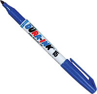 Маркер строительный Markal Pocket Dura-Ink 15 / 96025 (синий) -