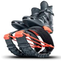 Джампер для взрослых Kangoo Jumps Pro7 (S, черный/оранжевый) -