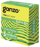 Презервативы Ganzo Ultra Thin №3 -