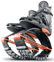 Джампер для взрослых Kangoo Jumps XR3 (S, черный/оранжевый) -