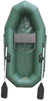 Гребная лодка Leader Boats Компакт-200 / 0029917 (зеленый) -