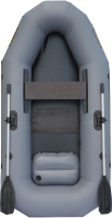 Гребная лодка Leader Boats Компакт-245 / 0073649 (серый) -