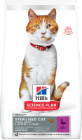 Корм для кошек Hill's Science Plan Young Adult Sterilised Cat Duck (1.5кг) -