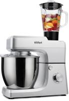 Кухонный комбайн Kitfort KT-1339-1 (серебристый металлик) -