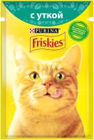 Корм для кошек Friskies Утка в подливе (85г) -